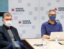 Zema  se reúne com ministro da Saúde para discutir vacina contra  covid-19