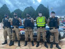 Mais de 270 policiais militares atuaram nas eleições municipais na região