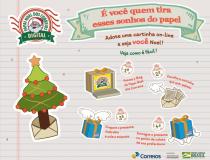 """Campanha """"Papai Noel dos Correios"""" será digital"""