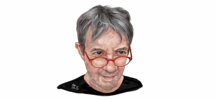 Cartunista Aroeira é o convidado do  #SempreUmPapoEmCasa desta terça-feira