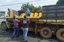 Plataforma de milho furtada e avaliada em R$ 100 mil foi localizada pela Polícia Civil