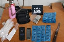 Operação fecha casa de prostituição e apreende menor envolvido com o tráfico de drogas em Campos Altos