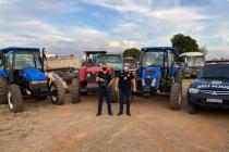 Tratores roubados no Triângulo e Alto Paranaíba foram recuperados pela Polícia Civil no Estado de Goiás