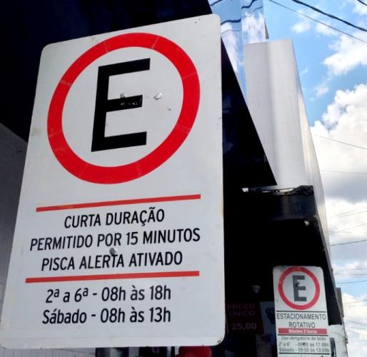 Estacionamento de curta duração é implantado na região central de Araxá